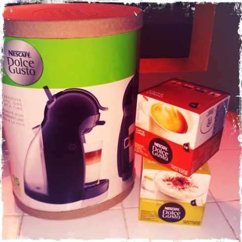 Nescafe's Dolce Gusto Coffee Maker